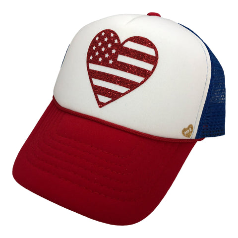 American Heart Flag- Youth
