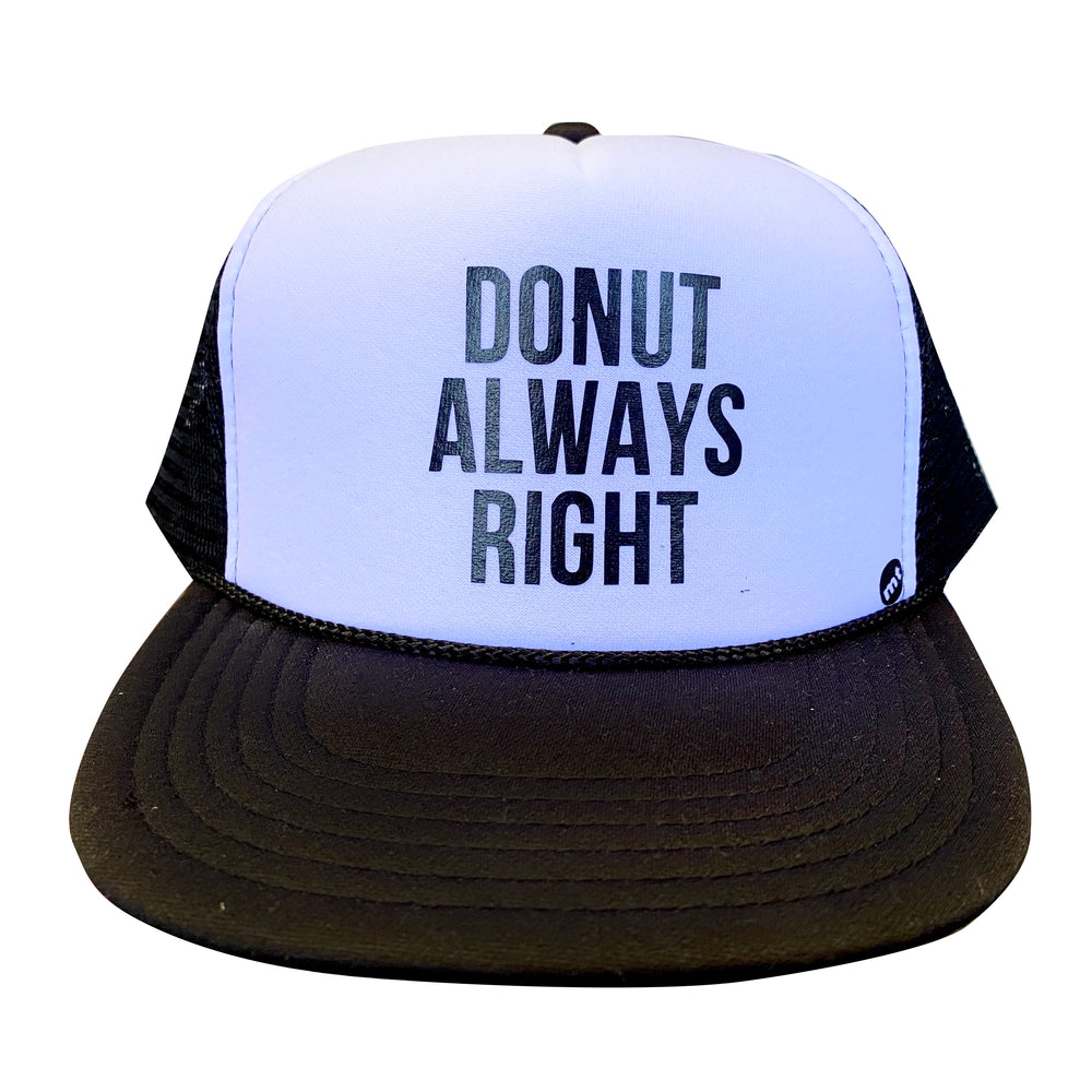 DONUT ALWAYS RIGHT