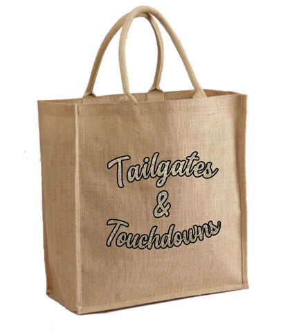 Tailgates and Touchdowns Tote