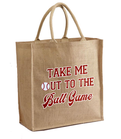 Take Me out to the Ball Game tote