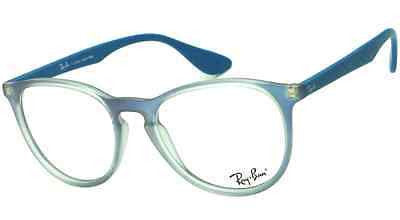51 Round Plastic Eyeglasses Rb Rayban 18 145 5484 Big Blue 7046 Frosted Square OPuiXZkT