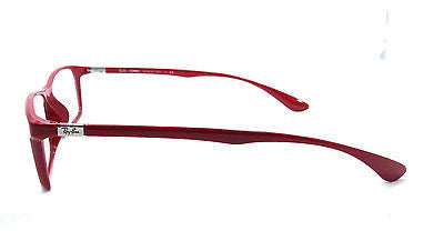 44cf4231c9 ... RAYBAN RB7035 5435 SHINY RED LITEFORCE EYEGLASSES FRAME 54-17-145  AUTHENTIC RX
