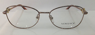 f20f412e564 Versace Mod. 1214 Color 1013 Copper Metal Eyeglasses Frame New Italy 54-16-
