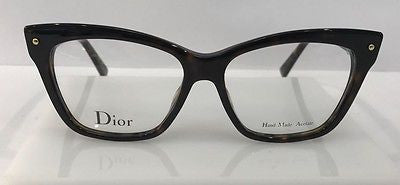 eb0d28a4bf5 Sold Out Christian Dior CD3269 Dark Tortoise 086 Plastic Cat Eye Frames  54-15-140 Italy