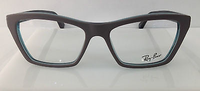 116e47df87 RAYBAN RB5316 MATTE GREY 5389 PLASTIC CAT EYE EYEGLASSES AUTHENTIC  51-16-140 NEW