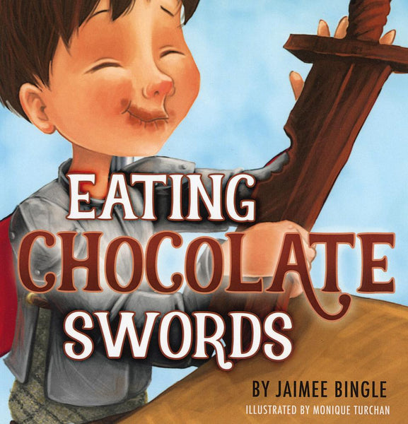 Eating Chocolate Swords