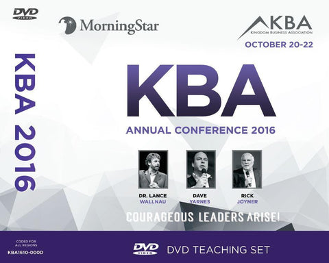 2016 KBA Conference