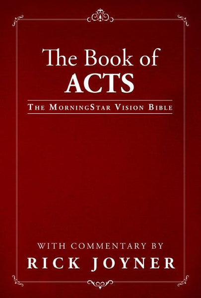 The Book of Acts (MorningStar Vision Bible)