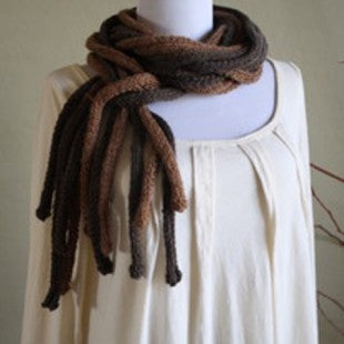 Aerial Roots Scarf Pattern