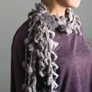 Kelp Forest Scarf Pattern
