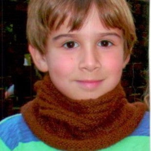 Kids Neck Warmer Pattern