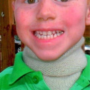 Kids Slpit Neck Warmer Pattern