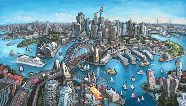 """Sydney, Australia"" Commission Completed!"