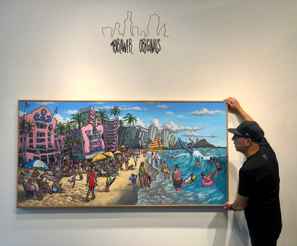 """Waikiki Beach"" Original Arrives in Seattle"