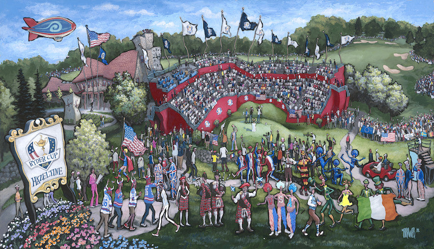 """Ryder Cup 2016"" Fine Art Canvas Reproductions Now Available"