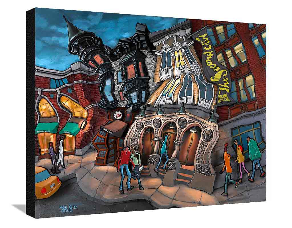 Second City XL Canvas