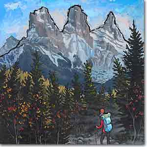 Three Sisters Canmore Preview