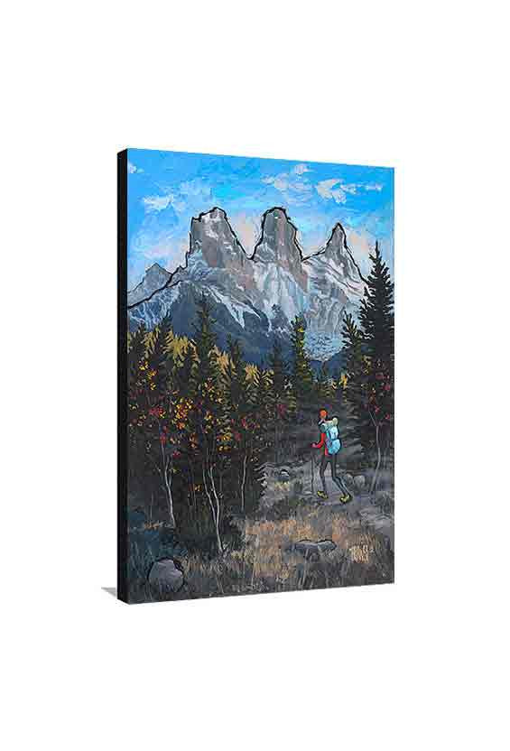 Three Sisters Canmore Medium Canvas