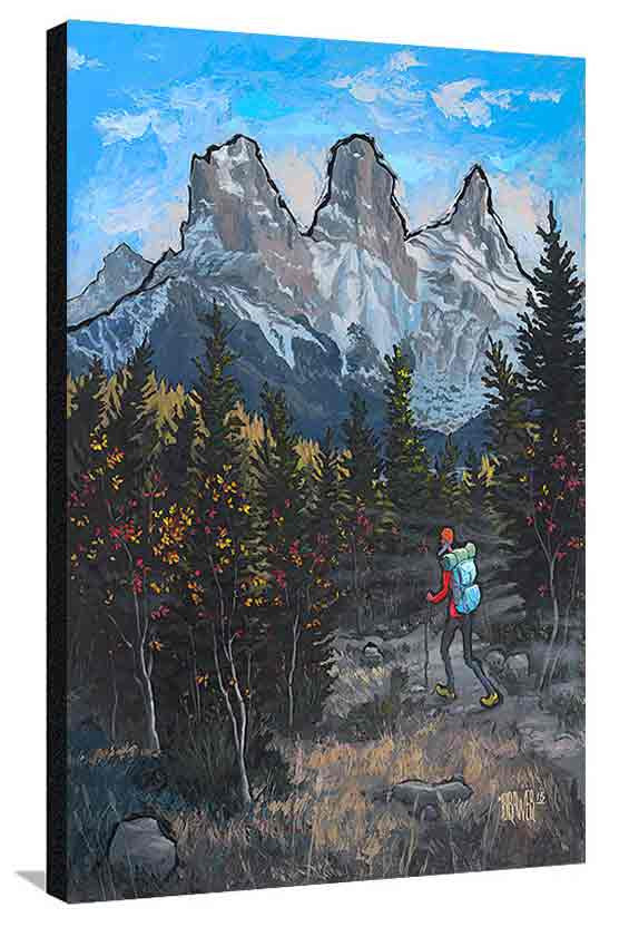 Three Sisters Canmore XL Canvas