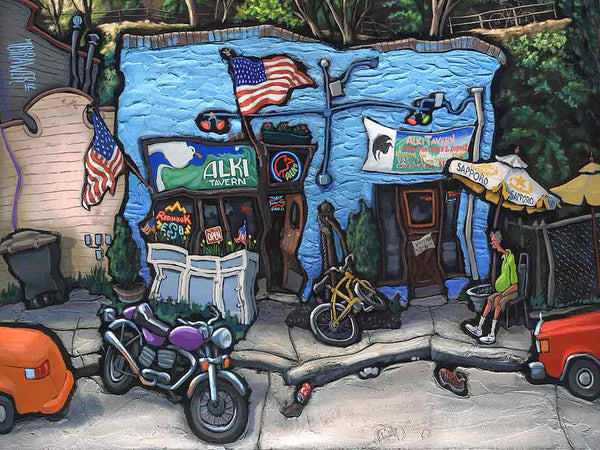 Alki Tavern Original Painting