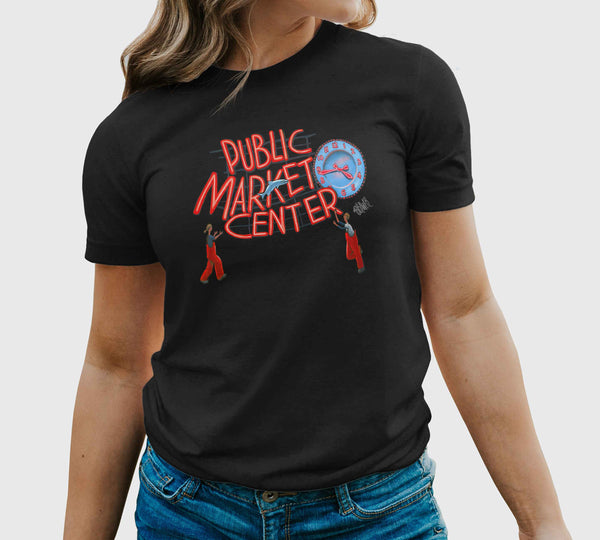"""Pike Place Market"" Unisex T-Shirt"