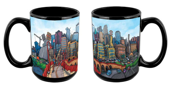 """Downtown Minneapolis"" Mug"