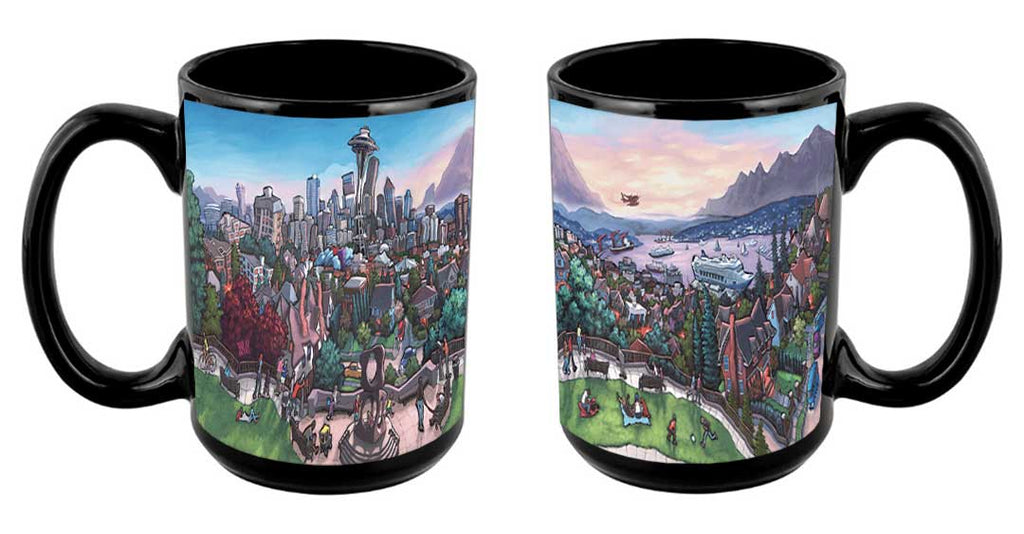 """Kerry Park -Seattle"" Mug"