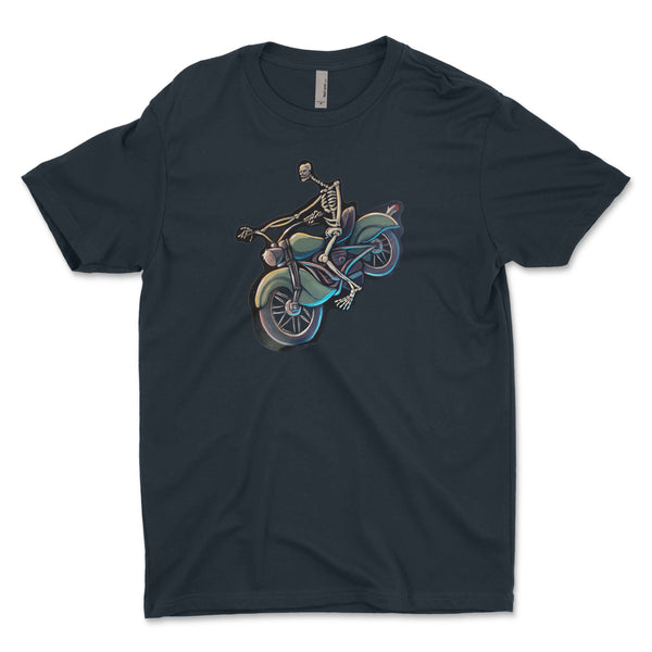 """Skeleton Rider - Twisted Spoke"" Unisex T-Shirt"