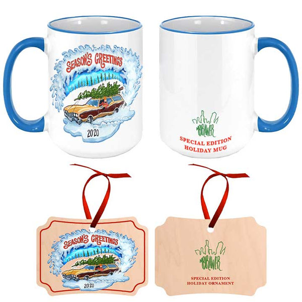Limited Edition Holiday Mug and Ornament