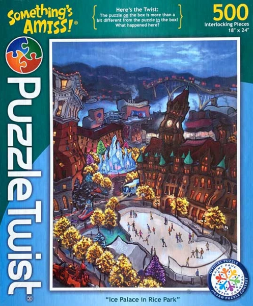 """Ice Palace in Rice Park"" Puzzle"