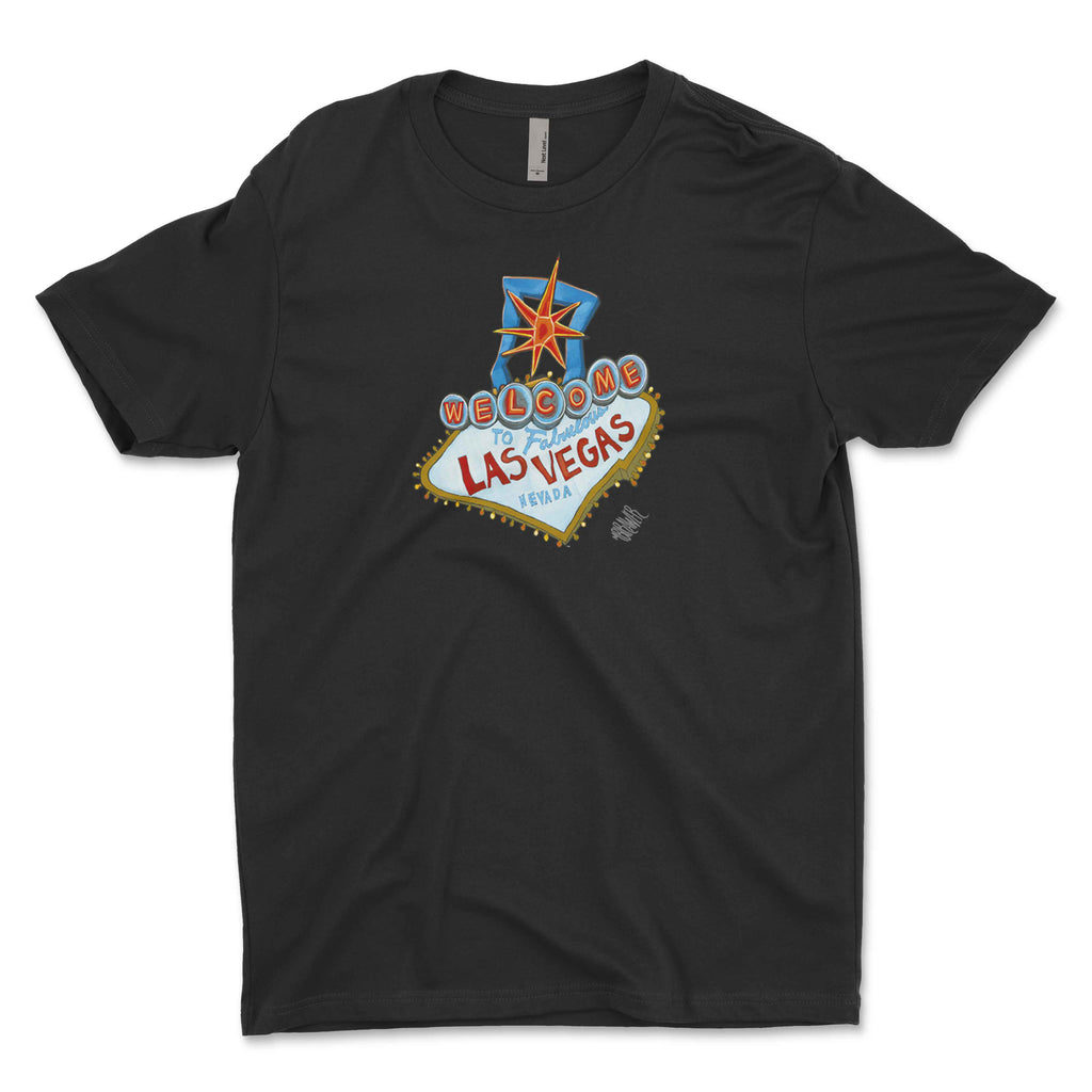 """Welcome to Las Vegas"" Unisex T-Shirt"