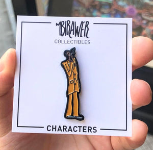 Yellow Suit Guy Pin