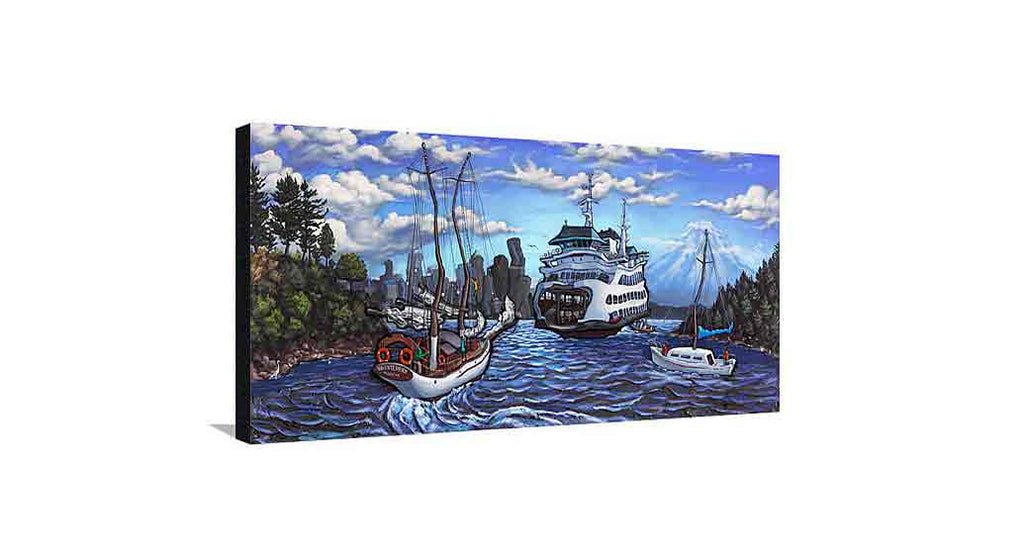 Bainbridge Island Medium Canvas
