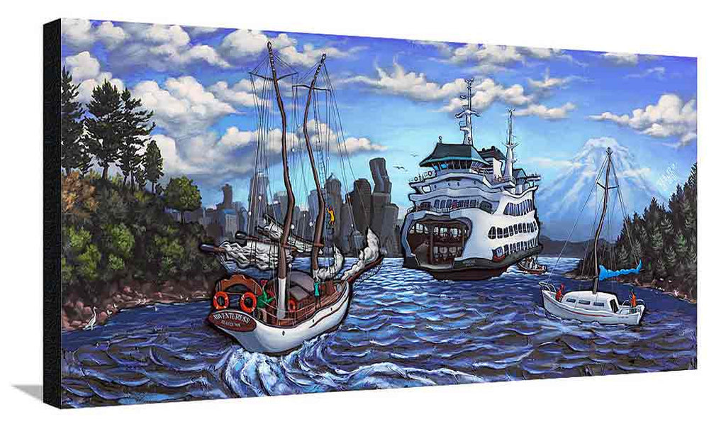 Bainbridge Island XL Canvas