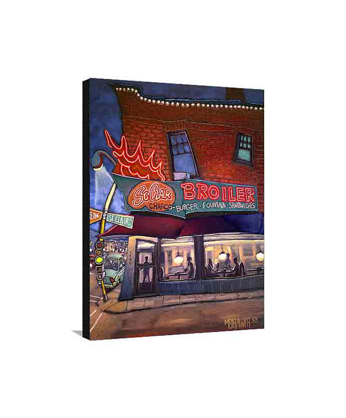 St. Clair Broiler Medium Canvas