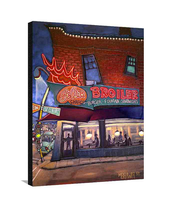 St. Clair Broiler Large Canvas