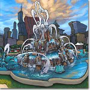 Buckingham Fountain Preview