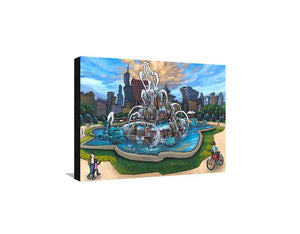 Buckingham Fountain Medium Canvas