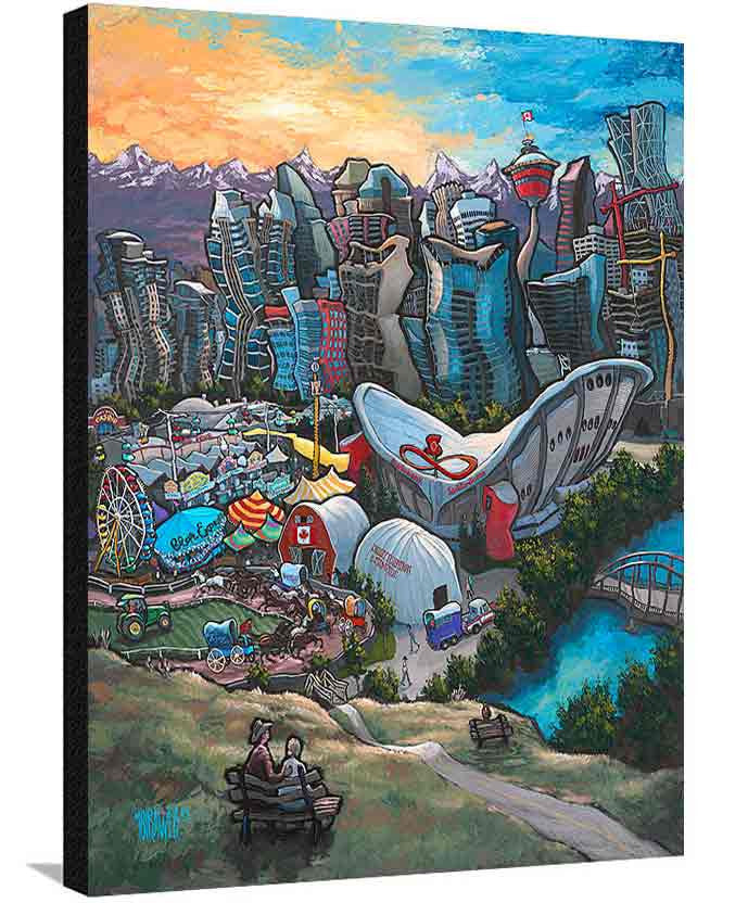 Calgary XL Canvas