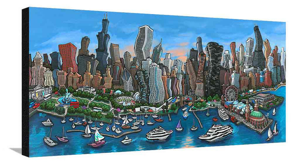 Chicago Skyline XL Canvas