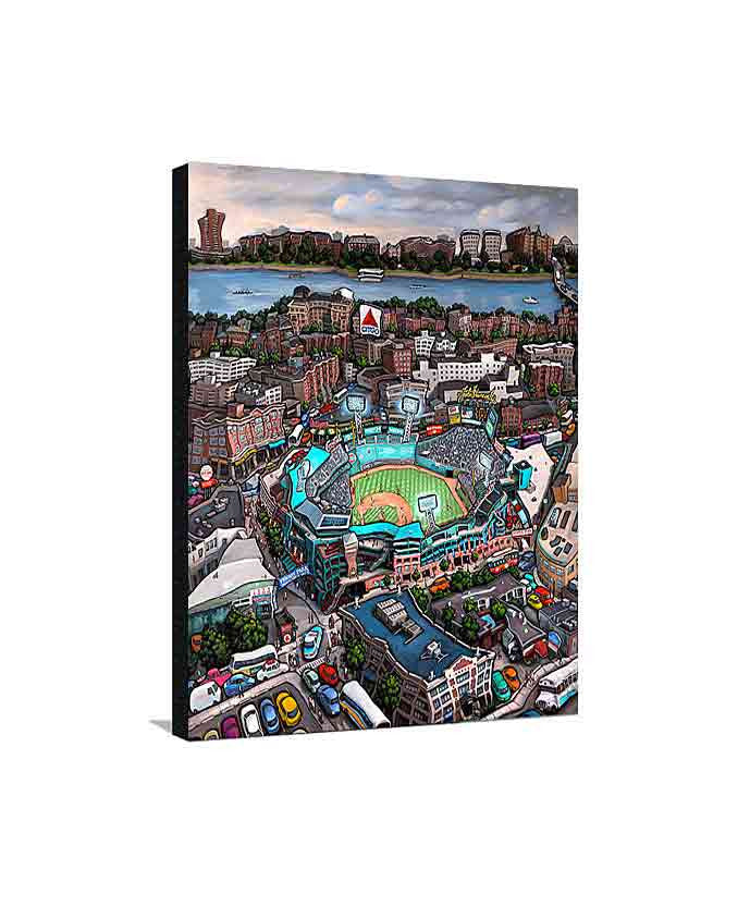 Fenway Park Boston Medium Canvas