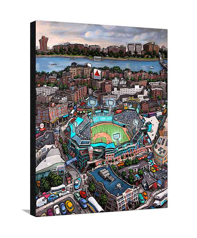 Fenway Park Boston Large Canvas