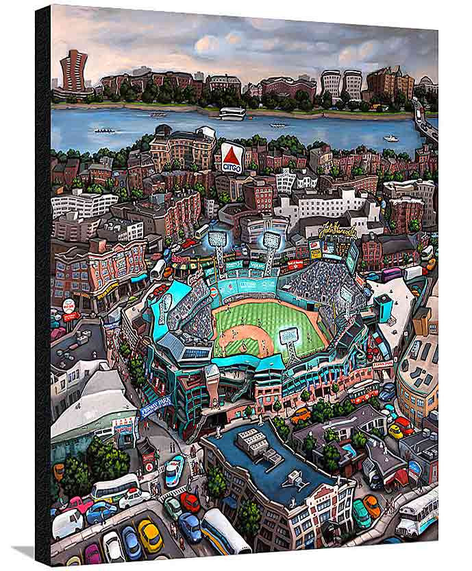 Fenway Park Boston XL Canvas