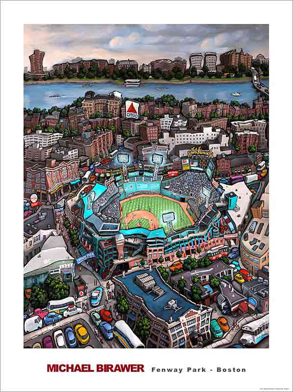 Fenway Park Boston Poster