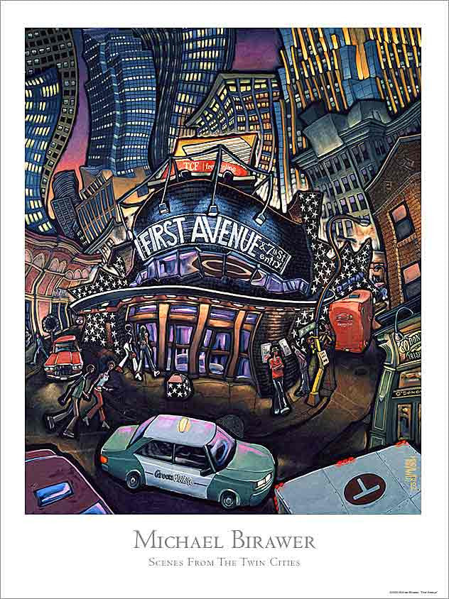 First Avenue Poster
