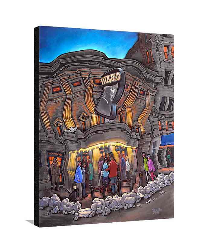 Fitzgerald Theater Large Canvas