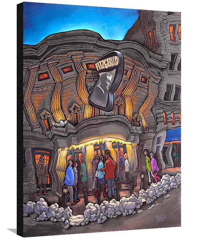 Fitzgerald Theater XL Canvas