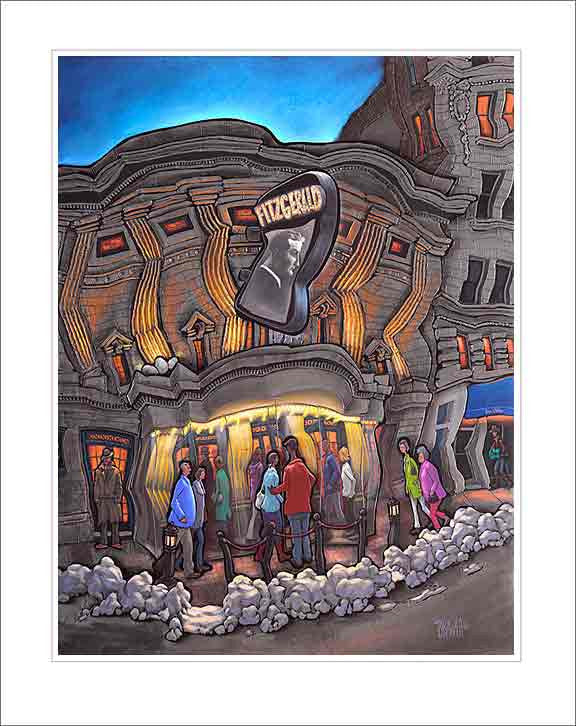Fitzgerald Theater Small Canvas