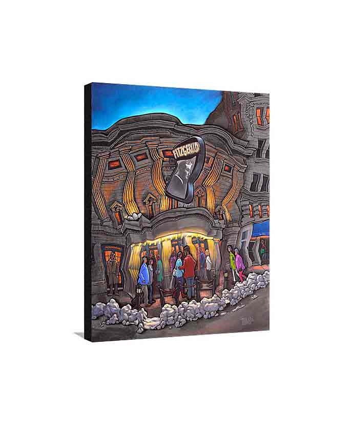 Fitzgerald Theater Medium Canvas