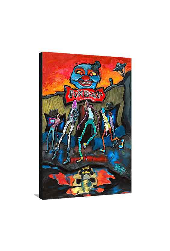 Funhouse Medium Canvas